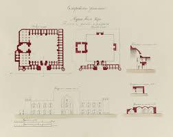 antiquities of samarkand madrasah of tillia kari plan elevation