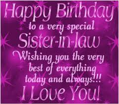 birthday wishes animated cards for sister in law best greetings