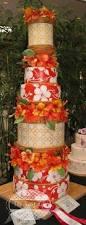 hawaiian wedding cake unique turquoise cake wedding design ideas