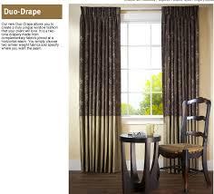 Two Tone Drapes Horizons Soft Treatments Draperies Side Panels Horizons Fabric