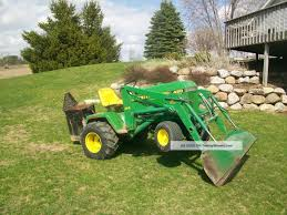 john deere 420 garden tractor backhoe the best deer 2017