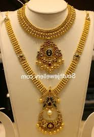 beautiful necklace designs images Bridal gold necklace designs with price in rupees gold necklace jpg
