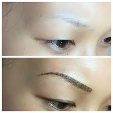 Semi Permanent Tattoo Eyebrows Microblading Semi Permanent Eyebrow Tattoo Yelp