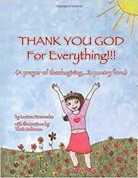 thank you god for everything a prayer of thanksgiving in