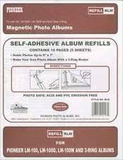 pioneer album refills pioneer magnetic photo album refill pages 243625 ebay