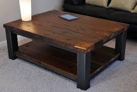 Steel Coffee Table Adorable Rustic Wood Coffee Table Rustic Wood Coffee Tablerustic
