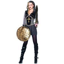 plus size halloween tights joan of arc legendary female warrior costume for women