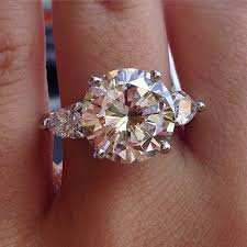 5 carat engagement ring best 25 5 carat diamond ring ideas on 3 carat ring