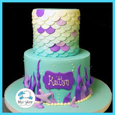 mermaid birthday cake mermaid birthday cake blue sheep bake shop