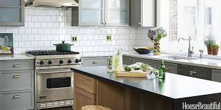 Pictures Of Backsplash In Kitchens Kitchen Design Kitchen Cabinet And Floor Colors Cabinets