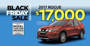 nissan black 2017 black friday vehicle specials black friday car offers berman