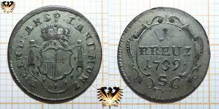 Prinz Max Von Baden Baden 1 Kreuzer 1856 Friedrich Prinz U Regent V Baden