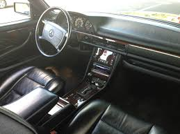 mercedes dealership inside 1991 mercedes benz 560sec u2013 pillarless pretty and remarkably
