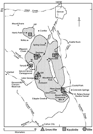 Cripple Creek Colorado Map by Mineralogy And Provenance Of Clays In Miarolitic Cavities Of The
