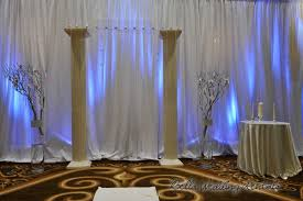 Screen Decoration At Back Of Altar Fabric Background U0026 Backdrops Pipe N Drape Wedding Pipe And