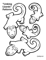 lizards activities worksheets printables and lesson plans