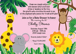 baby shower invitation wording for jungle theme baby shower diy