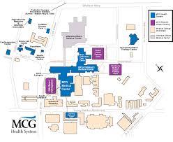 mcg floor plan mcg health system medical college of georgia cus map augusta