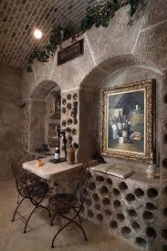 Wine Tasting Table Wine Tasting Table Wine Cellar Mediterranean With Brick Ceiling