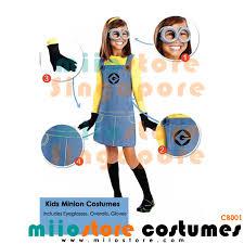 minion costumes kids minion costumes miiostore costumes singapore