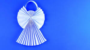 diy christmas angel ornament of paper detailed tutorial youtube