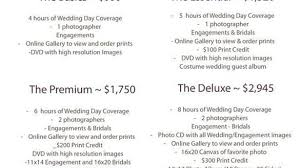 wedding photographers prices awesome wedding photographer prices 3