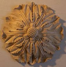 wood rosettes decorative ornamentation agrell architectural