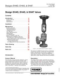 ehad ehas ehat valve instruction manual by rmc process controls