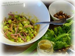 cuisiner c eri branche ღ miam salade de céleri branche sauce à la moutarde ail et