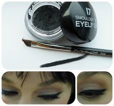 Maybelline Gel Eyeliner Review beautiful me plus you 17 smoulder gel eyeliner review