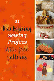11 thanksgiving sewing projects crafty tutorials