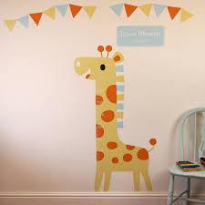 Wall Sticker Australia Baby Height Chart Wall