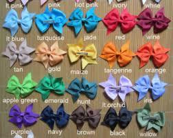 handmade hair bows handmade hair bows etsy