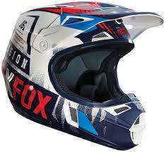 helmets motocross fox rampage comp imperial black blue helmet helmets motocross fox