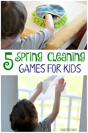 5 fun u0026 easy spring cleaning games for kids sunny day family