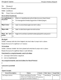 wrap up report template the project communication plan mpug
