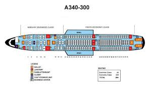 a340 seat map philippine airlines aircraft seatmaps airline seating maps and