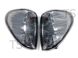 led tail lamp light smoke lens lh rh fit mitsubishi triton l200 mn