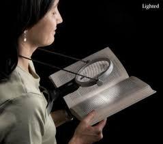 hands free lighted magnifier ultra optix over the neck led lighted 2 5x magnifier hands free