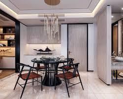 dining open kitchen floor plan beautiful spacious asian style