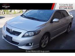 toyota corolla xrs 2008 used toyota corolla xrs for sale with photos carfax