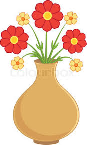 Flowers In Vases Pictures Spring Colorful Flowers In Vases Vector Illustration Stock