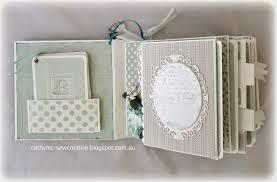 baby boy album sew creative baby boy mini album using project cards plus