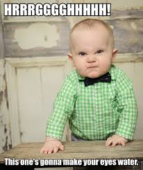 Angry Baby Meme - meme watch bartender baby hates you and the rocking horse you
