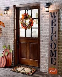 Wel e Guests with Fall Door Decorations – My Kirklands Blog