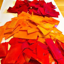 fall color stained glass suncatcher crafts kids