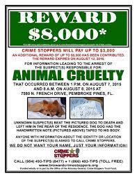 8 000 reward for pomeranian killer who left u0027lol u0027 note ny daily