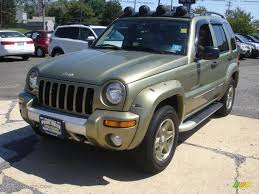 03 jeep liberty renegade 2003 cactus green pearl jeep liberty renegade 4x4 53463447