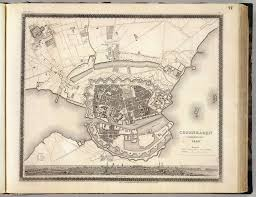 Copenhagen Map Copenhagen Kiobenhaven David Rumsey Historical Map Collection