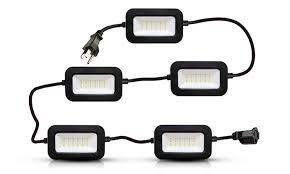 50 2 500 lumen led string lights set groupon